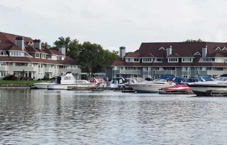 Harbour HOA Sandusky Ohio Boats